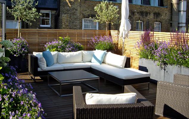 Terrasse en ville, une vraie pièce à vivre - My Little Jardin