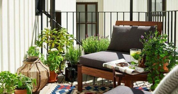 Un balcon zen pour s'évader du quotidien