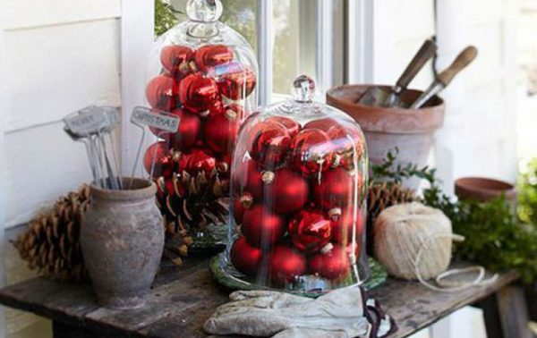 Décors de Noël inspirés du jardin