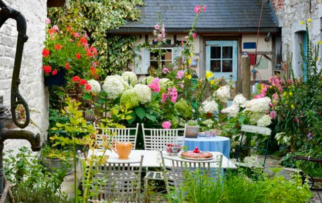Repas au jardin ambiance champ tre my little jardin - My little jardin ...