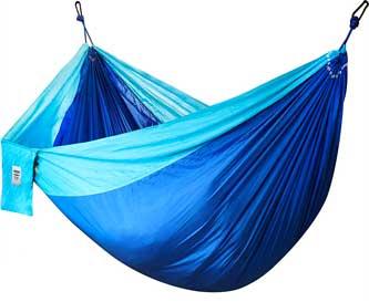 Les hamacs en toile de parachute