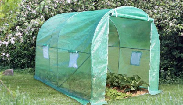 Fabriquer un tunnel de jardin